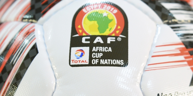 Fußball zum Africa Cup