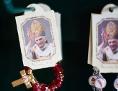 Kärtchen mit Bildchen von Benedikt XVI.