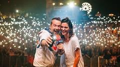 Elke Rock und Robert Kratky auf der Ö3-Bühne am Donauinselfest
