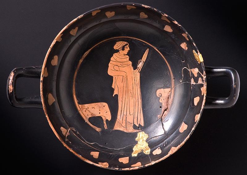 Griechische Trinkschüssel, ähnlich wie die nun im Burgund untersuchten