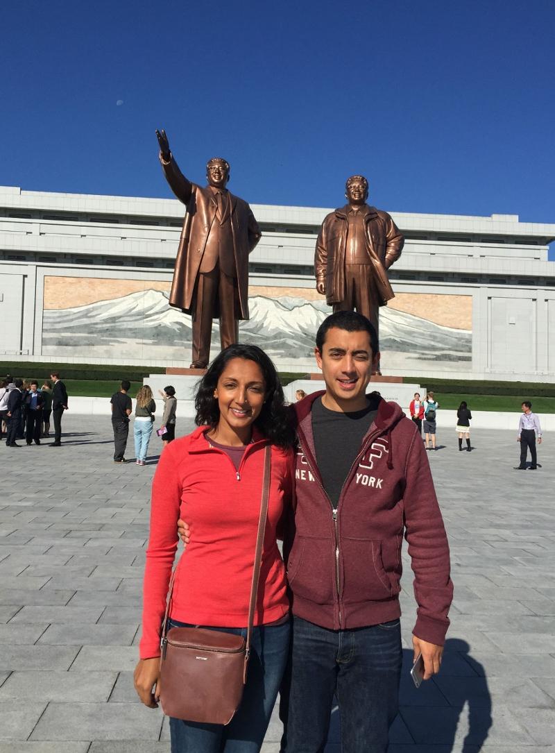In Pyongyang