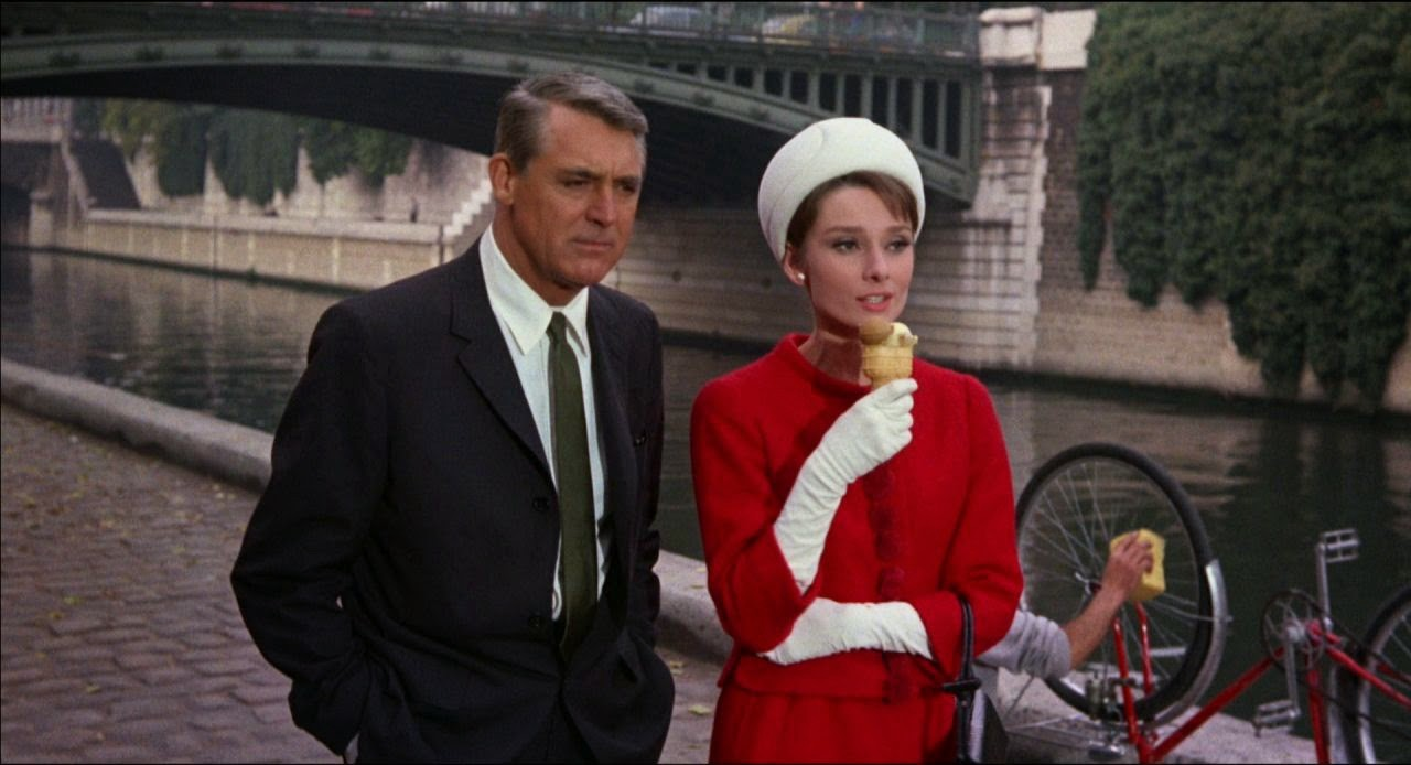 """Audrey Hepburn und Cary Grant in """"Charade"""""""