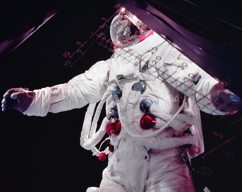 astronaut slide @ Starmus 2019