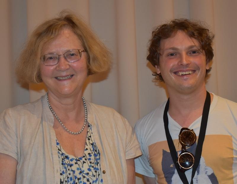 hanging out with Elizabeth Blackburn