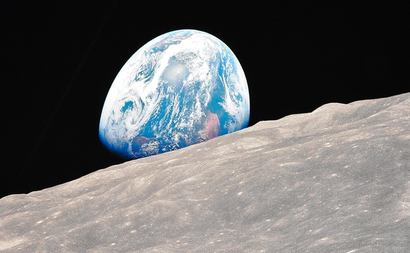 """Earth from moon"" @ Starmus 2019"