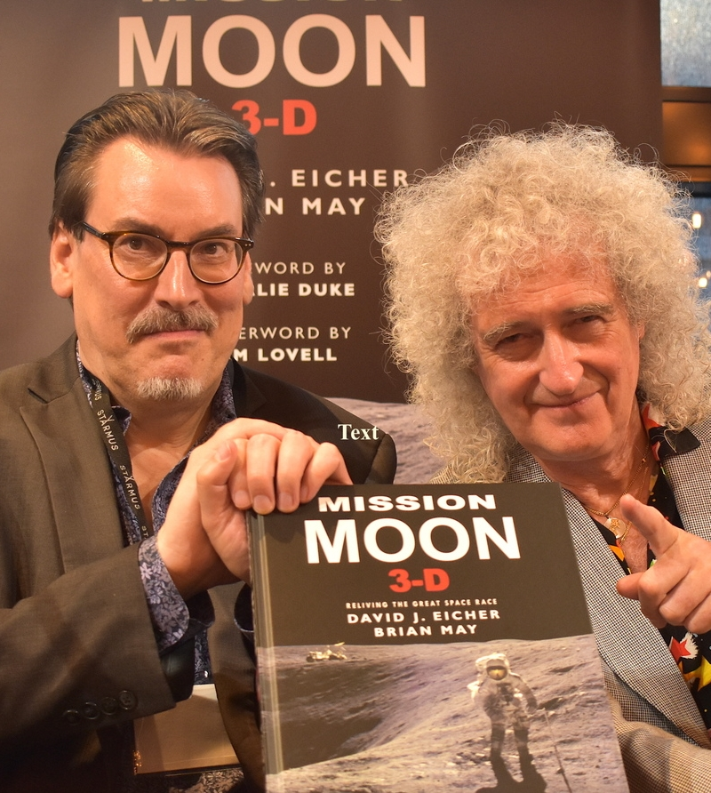 Mission Moon 3D, with Brian May and David Eicher