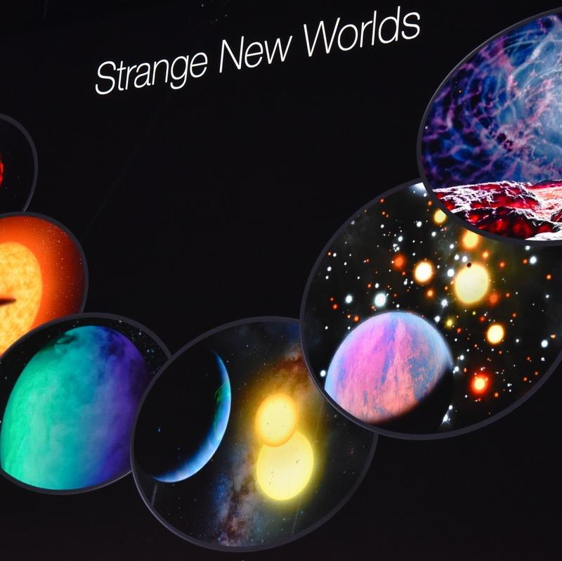 """""""Strange new worlds"""" @ Starmus 2019"""