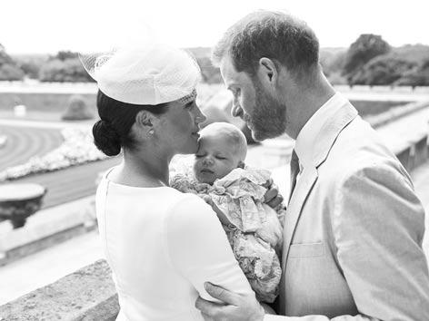 Royale Taufe von Archie