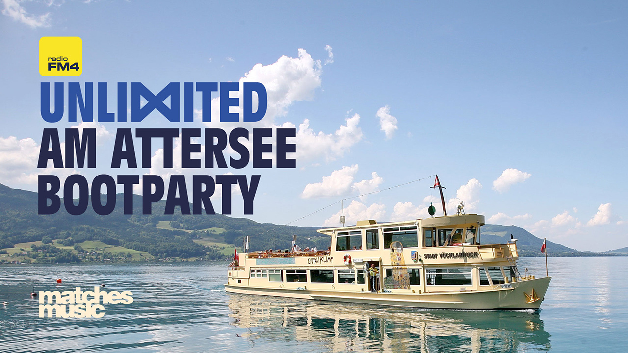 Bootparty am Attersee