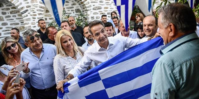 Impressionen Griechenland Wahlkampf