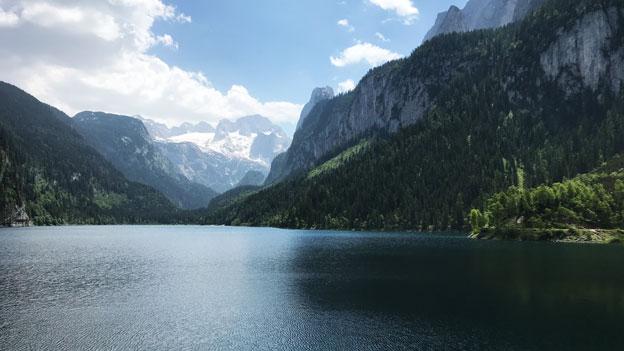 Berge und der Gosausee