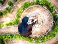 Gartenlabyrinth der Marienschwestern im Kloster Wernberg