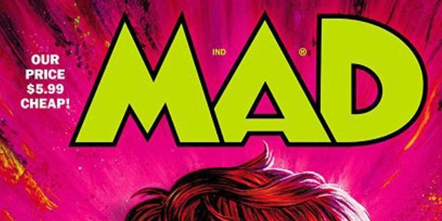 Ein Cover des Magazins Mad