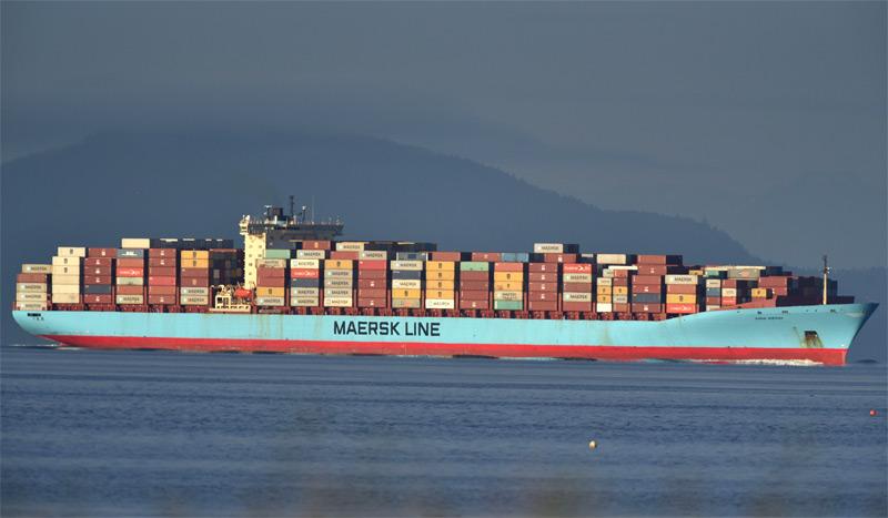 Kanadisches Containerschiff mit Müll, das die Philippinen wieder zurückgeschickt haben