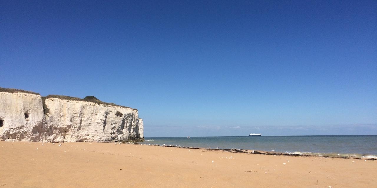 Strand im Südosten Englands