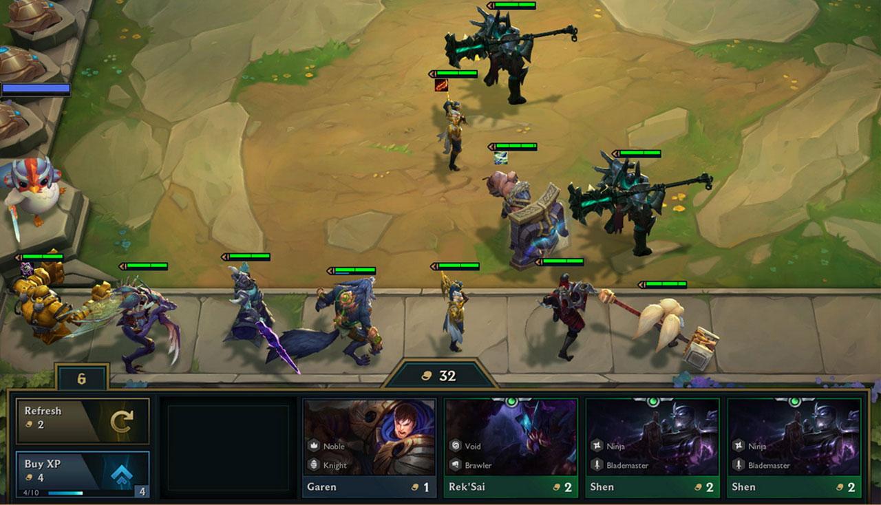 """""""Teamfight Tactics"""""""