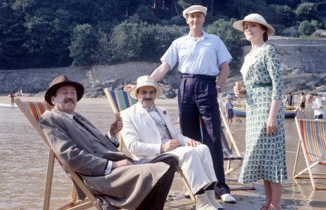 """Agatha Christie's Poirot  Das Haus auf der Klippe   Originaltitel: Poirot """"Peril at End House  (GB 1990), Regie: Renny Rye"""
