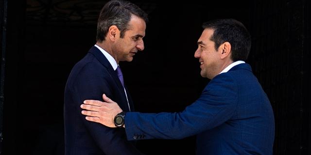 Amtsübergabe nach der Wahl in Griechenland