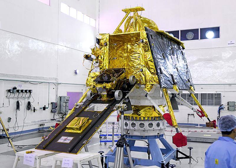 """Der Rover von """"Chandrayaan-2"""""""