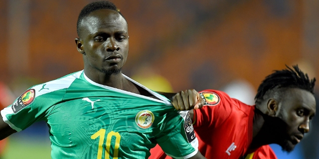 Sadio Mane im Senegal-Trikot