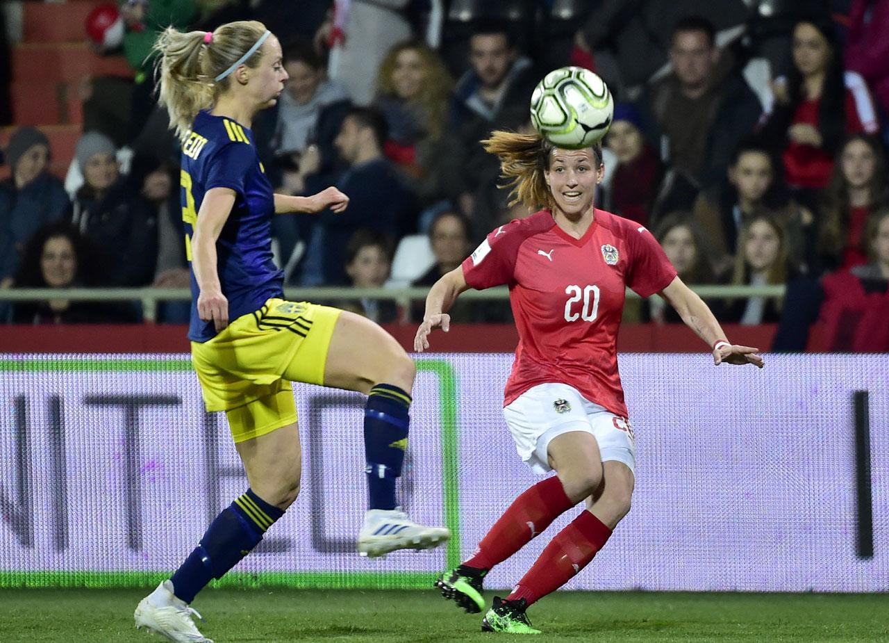 ÖFB Frauen gegen Schweden