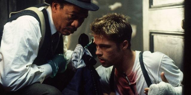 Morgan Freeman und Brad Pitt