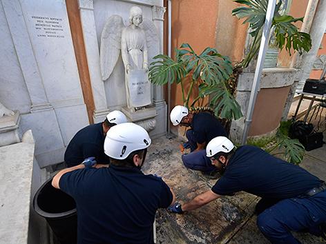 Grabung im Vatikan auf der Suche nach Überresten von Emanuela Orlandi