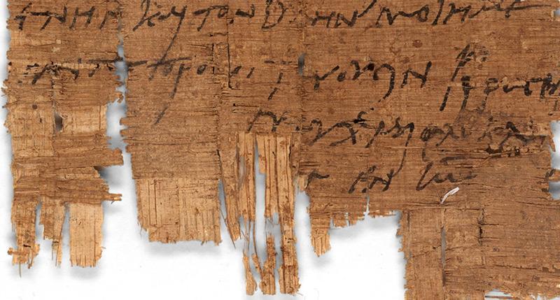 Der Brief stammt aus den 230er Jahre nach Christus datiert werden und ist laut Unit Basel somt älter als alle bisher bekannten christlich-dokumentarischen Zeugnisse aus dem römischen Ägypten.