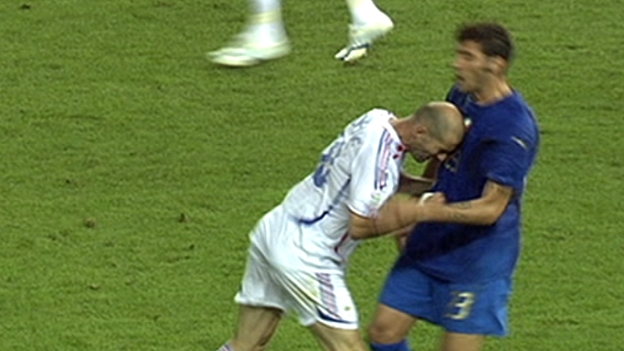 Zidane's Kopfstoß beim WM-Finale 2006