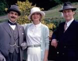 """Agatha Christie's Poirot  Der Ball spielende Hund  Originaltitel: Poirot """"Dumb Witness"""" (GB 1996), Regie: Edward Bennett."""