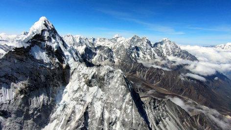 Land der Berge  Hillary und sein Everest