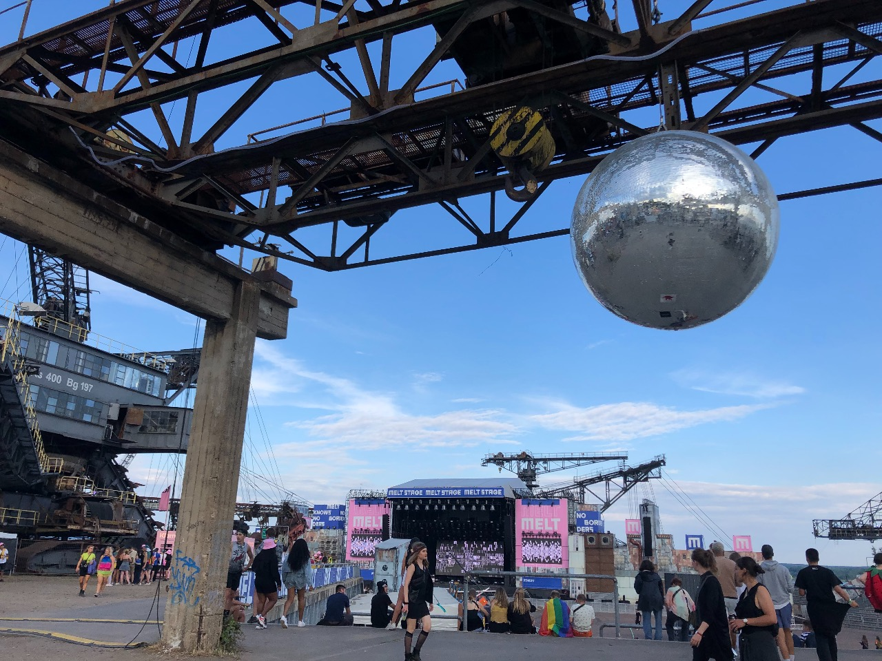Atmosphäre am Melt! Festival 2019