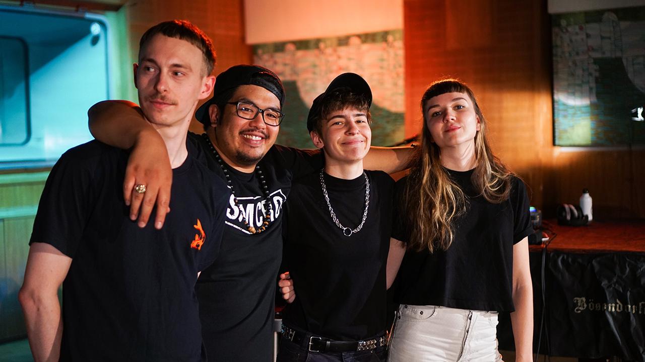 Kerosin95 im Studio 3 bei der Fm4 Acoustic Session zum Popfest 2019