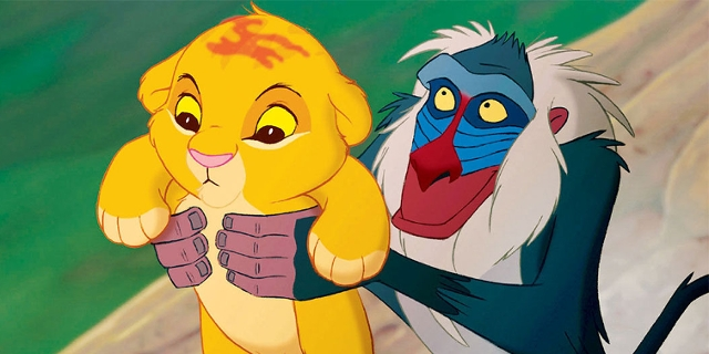 Screenshots aus The Lion King