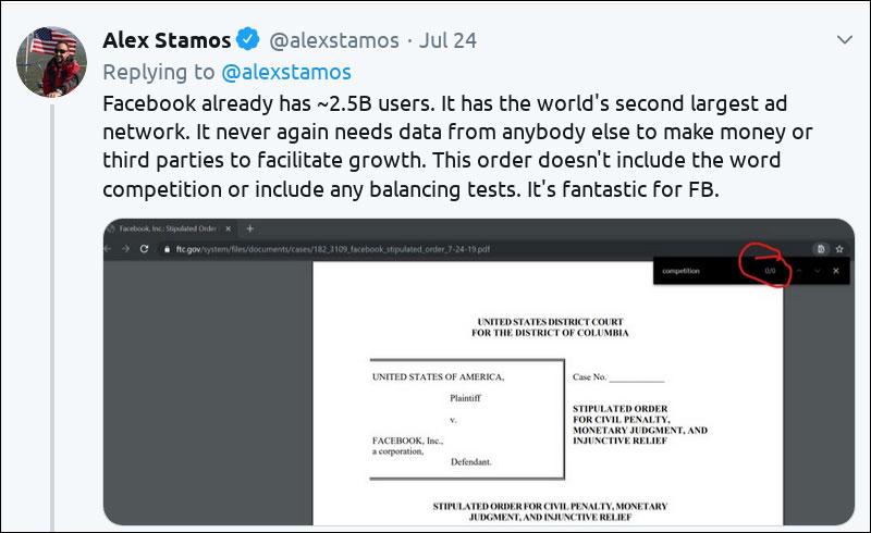 Screenshots aus Dokumenten und Nachrichten