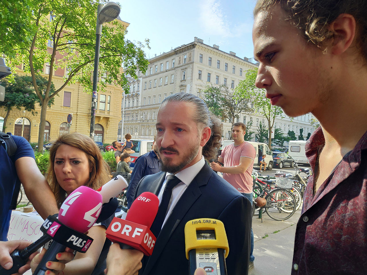 Prozess gegen den Klimaaktivisten Paul