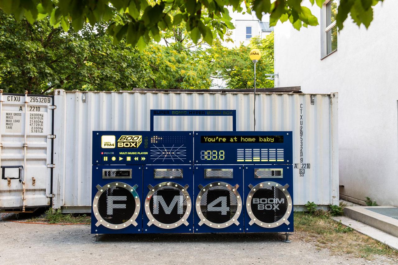 FM4 Boombox