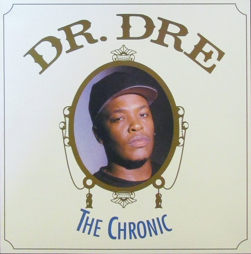 "Albumcover Dr Dre - ""The Chronic"""