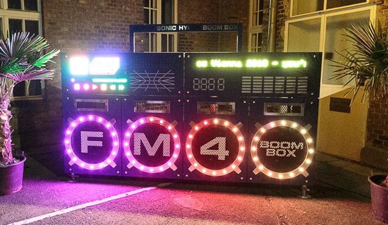 FM4 Boombox beim Waves Vienna