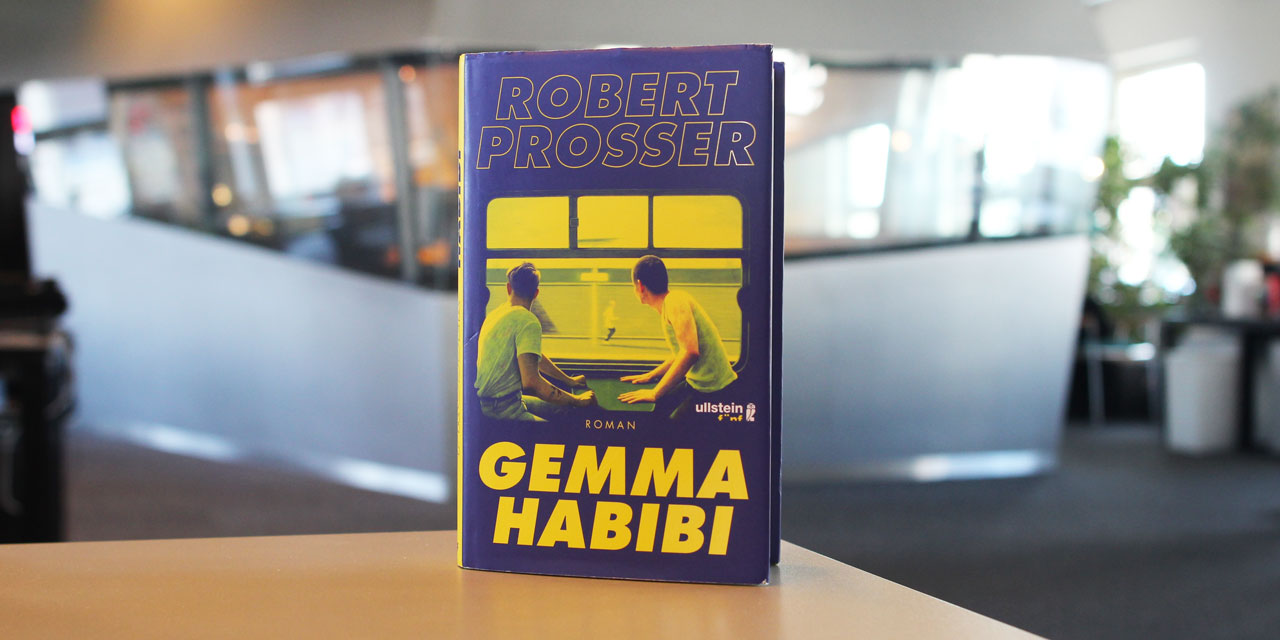 """Buchcover von Robert Prosses """"Gemma Habibi"""""""