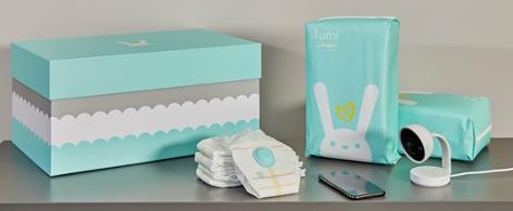 Das Produkt Pampers Lumi von Procter & Gamble