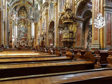 Innenansicht des St. Pöltener Doms