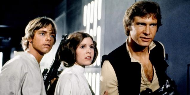 """Filmstill aus """"Star Wars: A New Hope"""""""