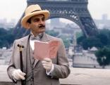 """Agatha Christie's Poirot  Die Wespe  Originaltitel: Poirot """"Death in the Clouds"""" (GB 1992), Regie: Steven Whittaker"""