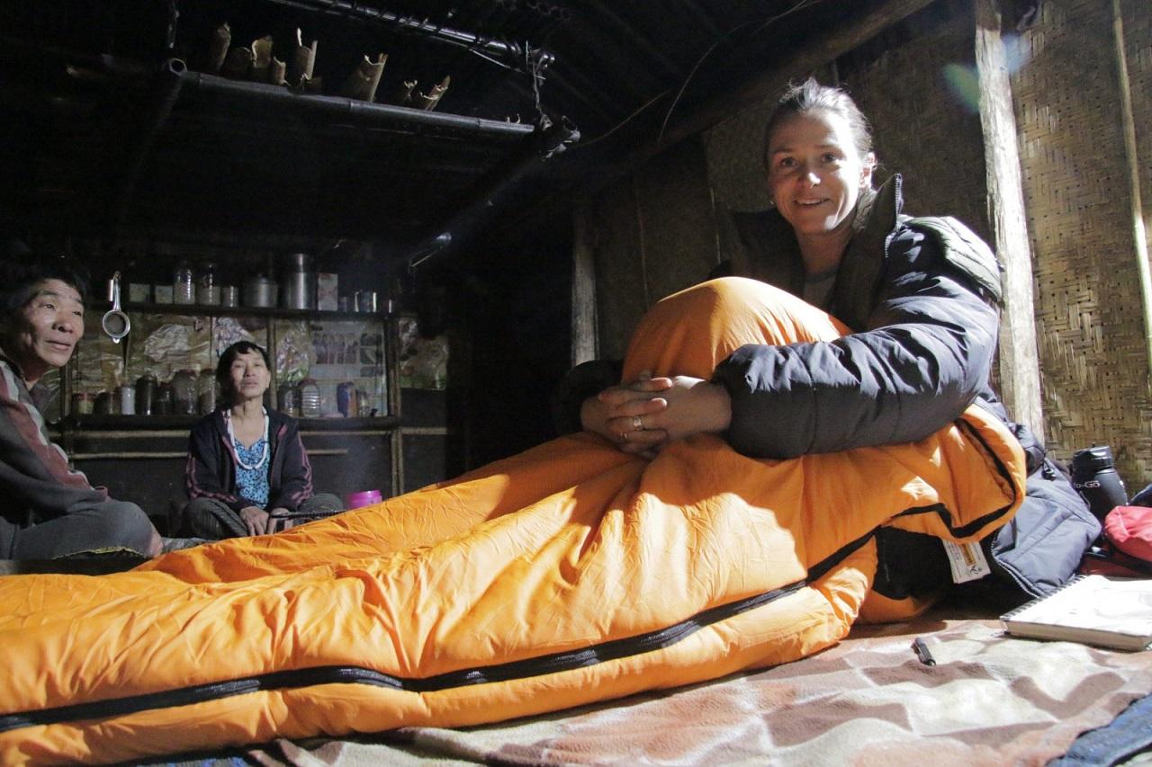 Ants in a sleeping bag