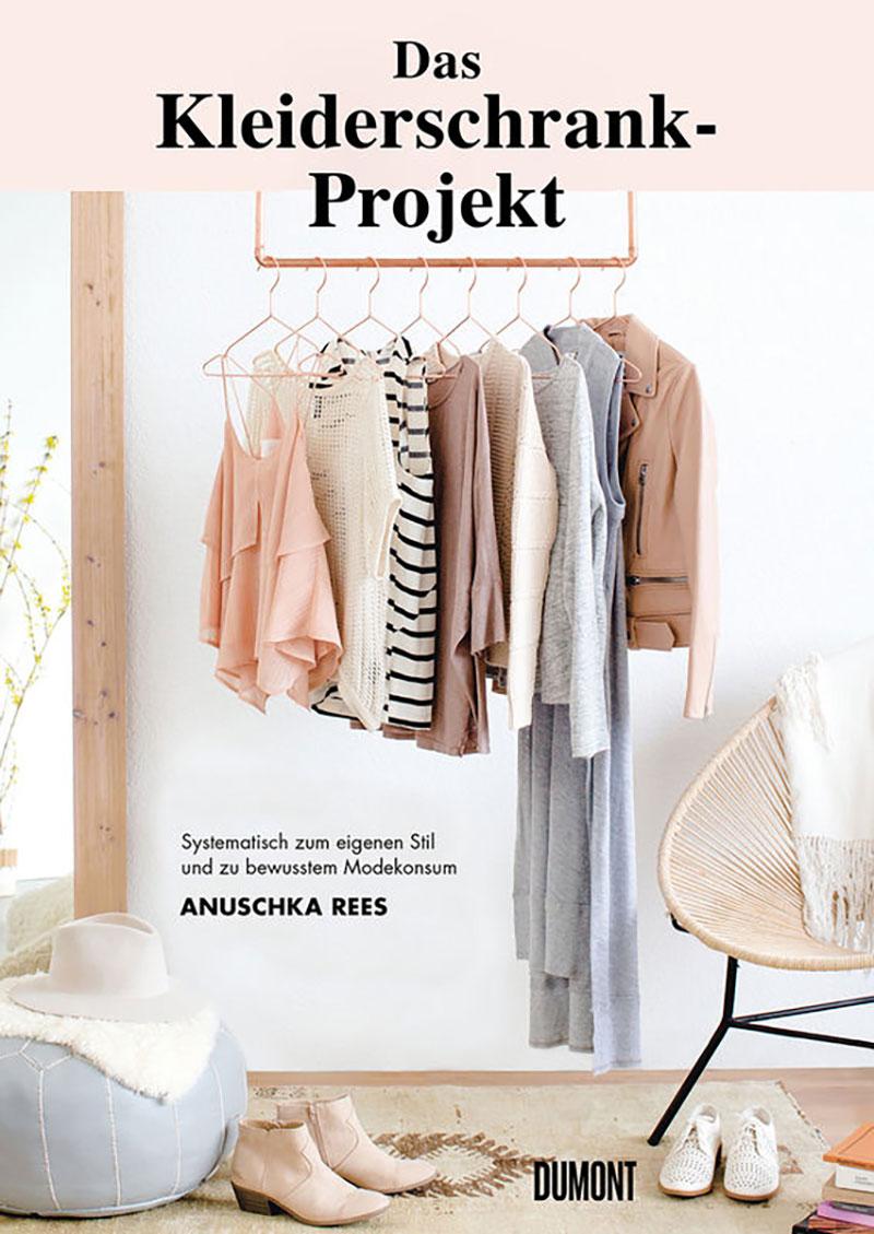 """Buchcover """"Das Kleiderschrank-Projekt"""""""