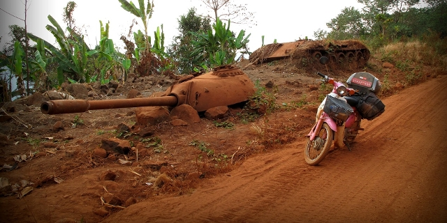 On the Ho Chi Minh Trail