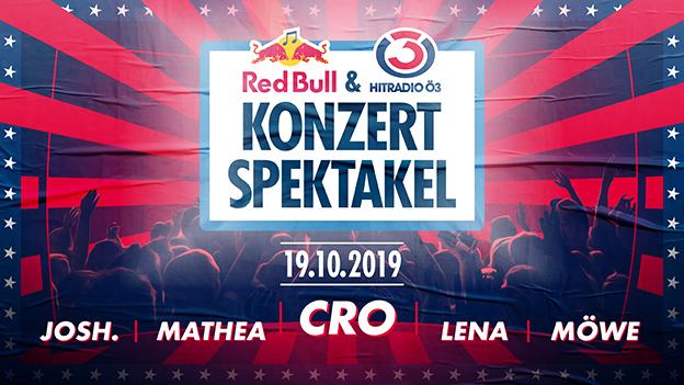 Das Red Bull und Hitradio Ö3 Konzertspektakel