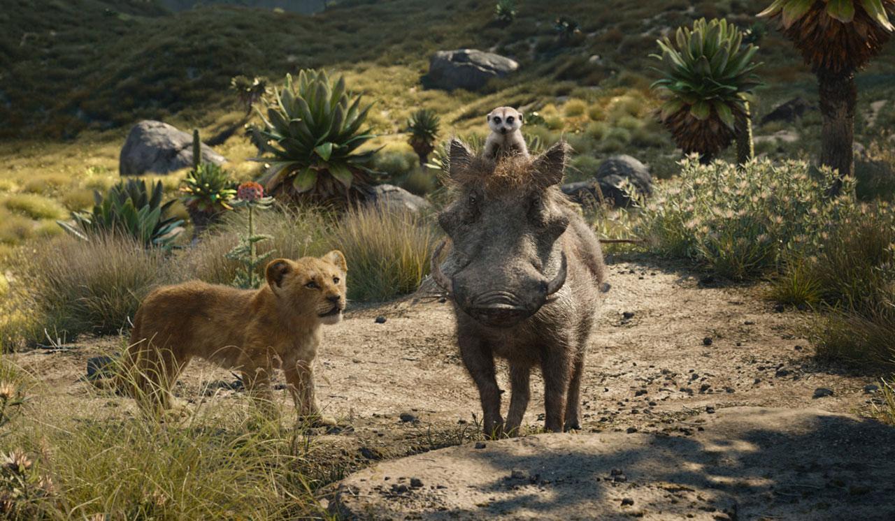 Szenenbild aus König der Löwen von Disney