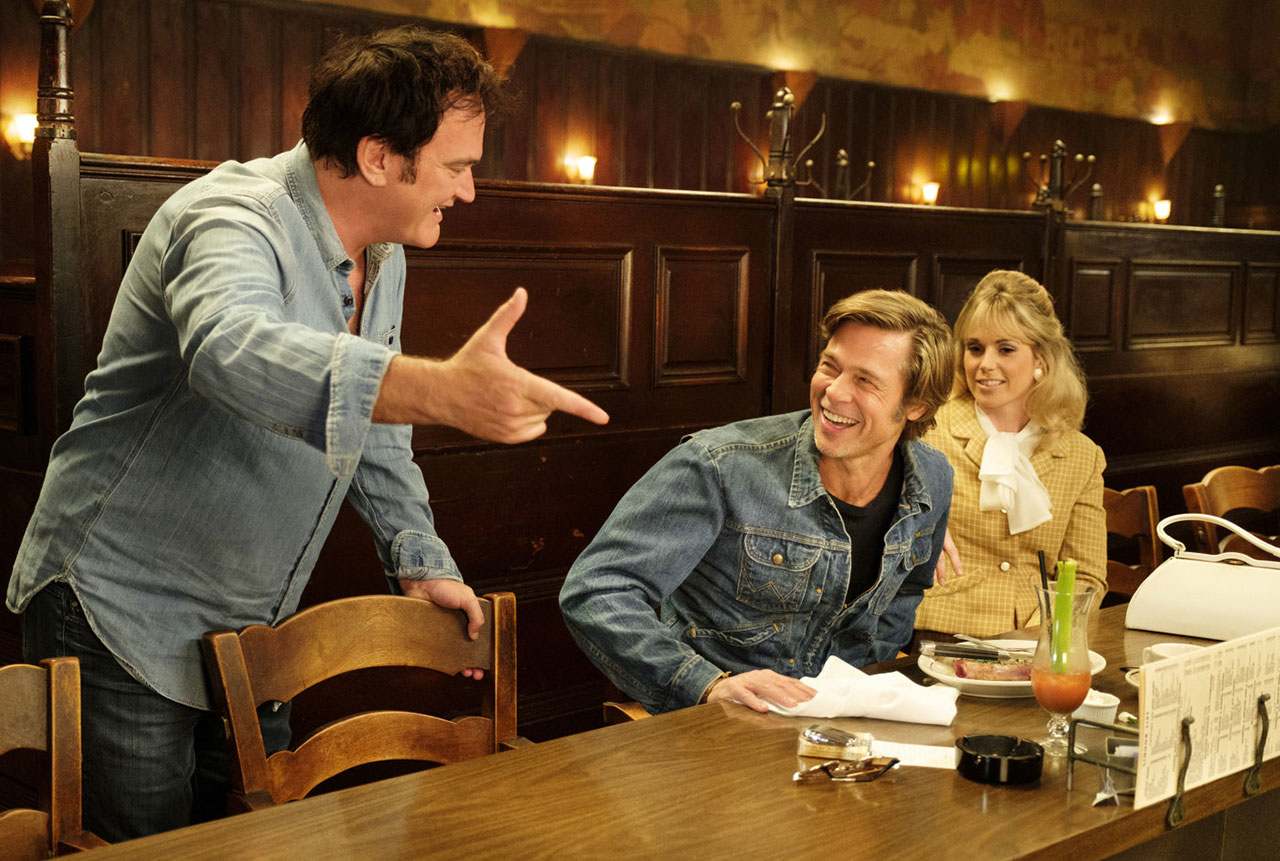 """Quentin Tarantino am Set von """"Once Upon A Time...in Hollywood"""""""